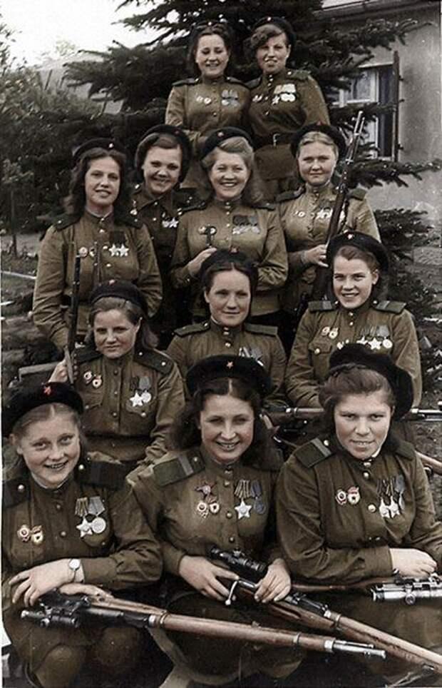 Первый парад советских войск в Берлине