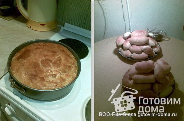 Дрожжевое тесто без яиц фото к рецепту 1