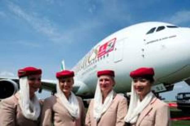 Россияне выбрали авиакомпании с самыми стильными бортпроводницами