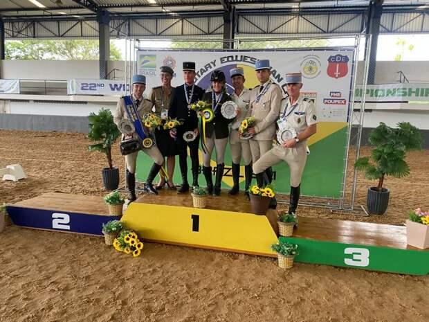 Спортсменка ЦСКА взяла «бронзу» на чемпионате мира по конному спорту