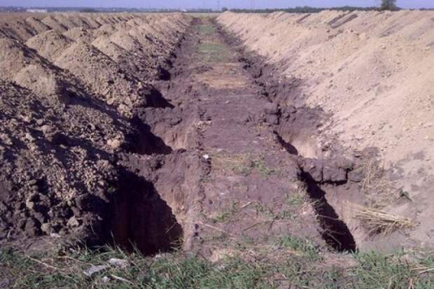 Россиянин выкопал могилу живой супруге