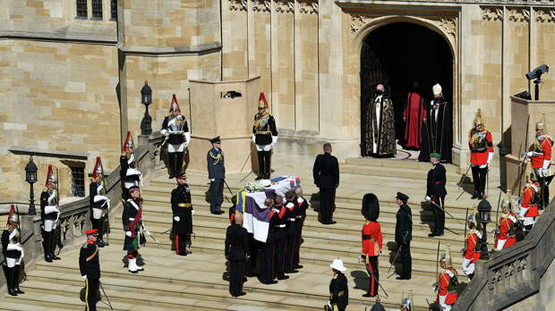 Похороны герцога Эдинбургского Филиппа - РИА Новости, 1920, 17.04.2021