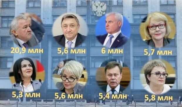Самым богатым депутатом Госдумы от Волгоградской области оказался Евгений Москвичёв