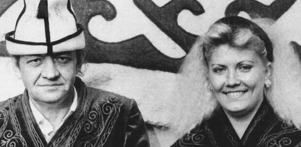 Лев Перфилов и его молодая жена Вера. Фото взято из свободного источника