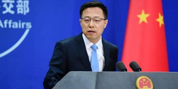 Китай осуждает США зараспространение теории вирусной утечки излаборатории