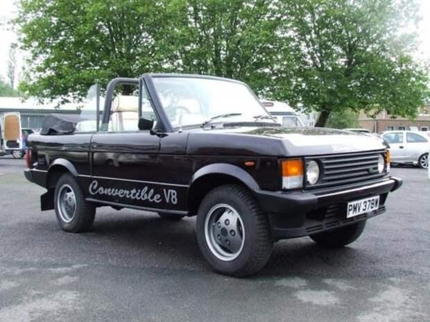 Range Rover Convertible 1981 Queen, Фредди Меркьюри, авто, автомобили, знаменитость, певец, факты