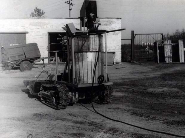 Боевое крещение экстремальной робототехники Чернобыле.