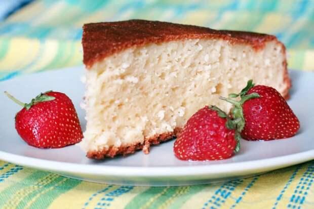 Творожный манник. Оригинальный сладкий и нежный десерт, который понравится как детям, так и взрослым 4