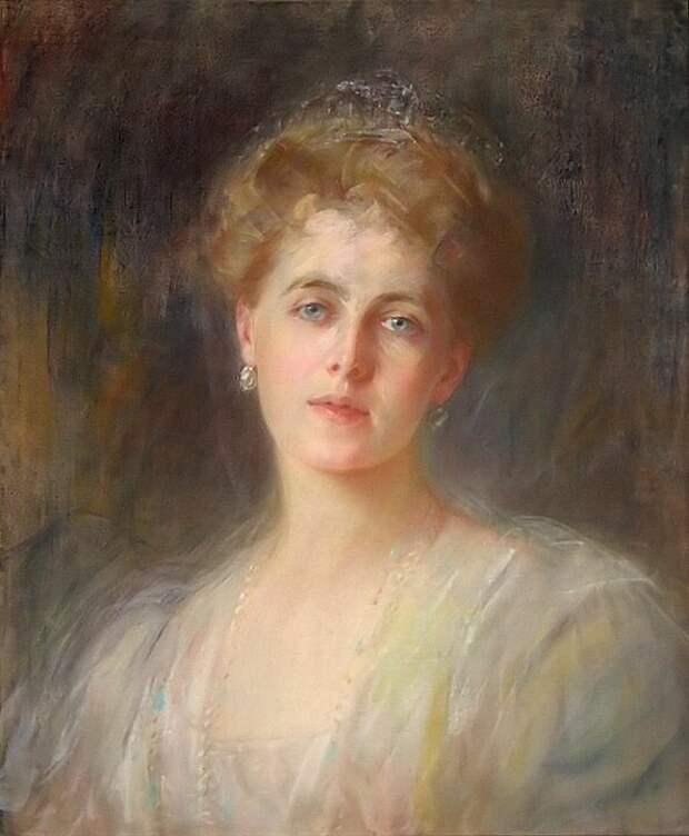 Портрет принцессы Марии Эдинбургской.