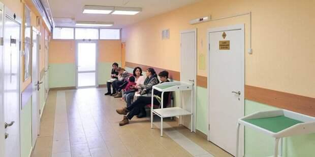Собянин осмотрел новую детскую поликлинику на северо-востоке Москвы/ Фото mos.ru