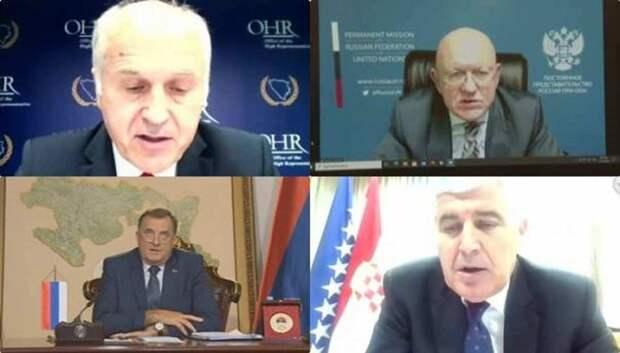«Мы против НАТО» – Додик в Совбезе ООН отчитал надсмотрщика Запада