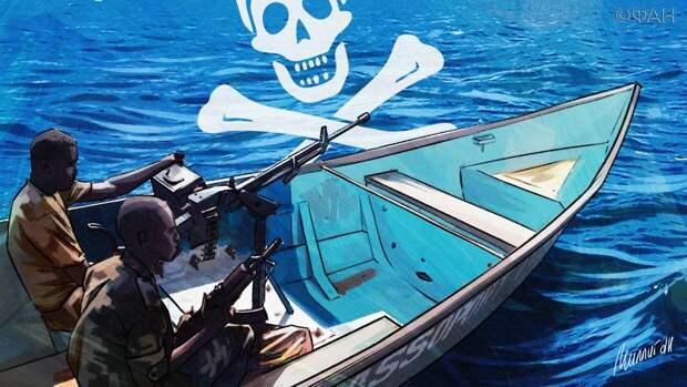Содействие в спасении россиян, похищенных пиратами в Гвинейском заливе, оказала Германия