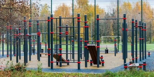 В парках в Выхине-Жулебине открылись детские и спортивные площадки