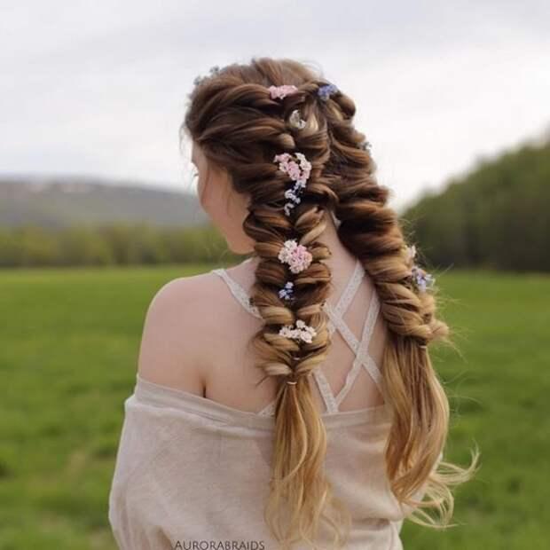 3.  косы, сестры