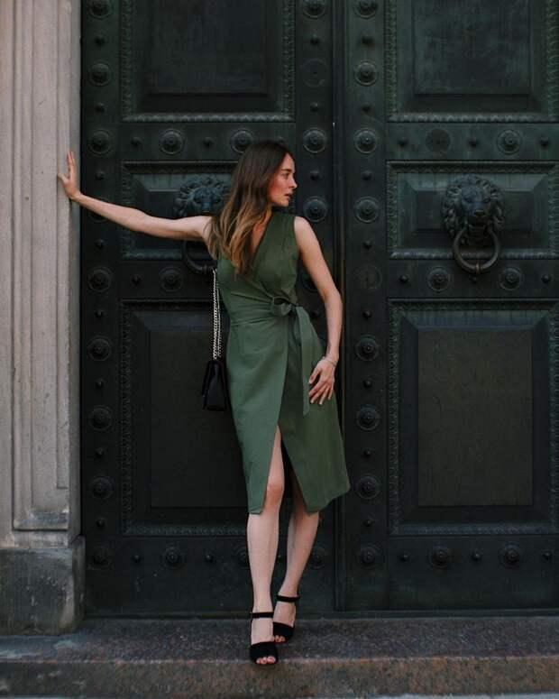 Платья на запах 2021-2022: лучшие модели и фасоны, тренды