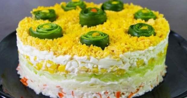 Рецепт нежного и вкусного салата «Нежность»