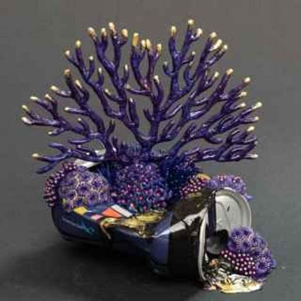 Кораллы и растения (скульпторы)