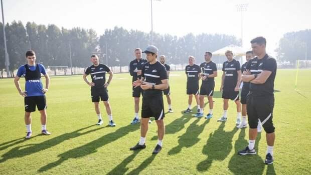 «Рига» составит конкуренцию «Зениту» в контрольном матче». «Проба мяча» в Дубае