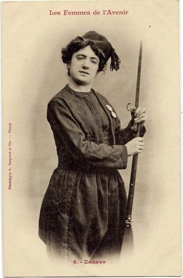 Зуав женщины, прогресс, профессии, феминизм