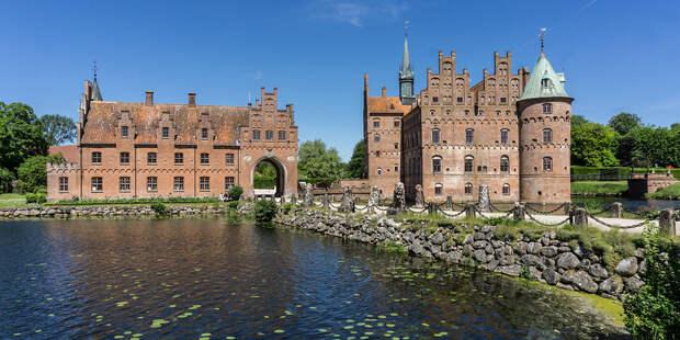 Самые красивые замки и дворцы Дании: монументальные сооружения, которые символизируют собой время