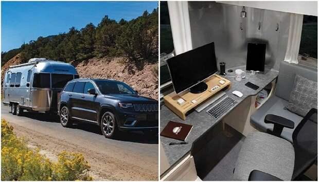 """Полноценный офис на колесах, или как работа на """"удаленке"""" становится путешествием"""