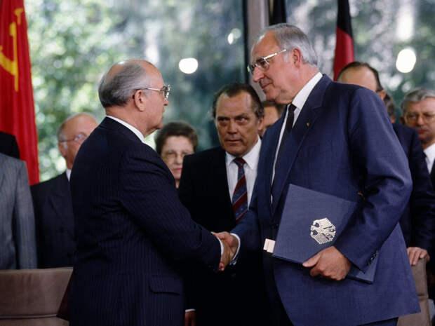 Почему Горбачёв не обменял объединение Германии на нерасширение НАТО на восток?