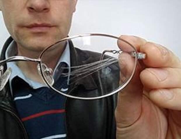 Как убрать царапины с очков для зрения в домашних условиях?