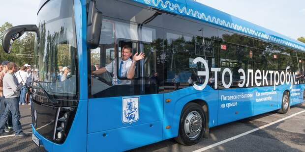 Электробусы начали курсировать по маршруту №637 в Алтуфьеве
