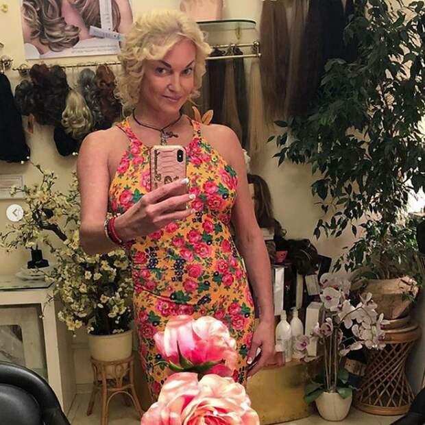 Волочкова с новой прической выглядит, как «бабуська в парике» — напоролась на бездарного стилиста