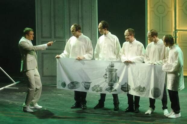 Сцена из спектакля «Тургенев сегодня» / Фото: Агентство «Москва»