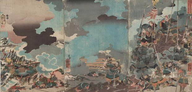 Смерть Ямамото Кансукэ. Гравюра Утагава Куниёси. commons.wikimedia.org - «Я постиг, что Путь Самурая — это смерть» | Warspot.ru