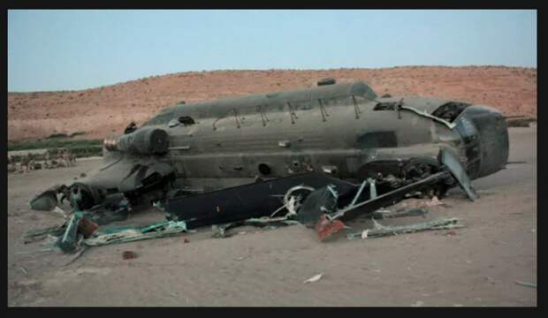 Талибы сбили вертолёт НАТО вместе с морпехами