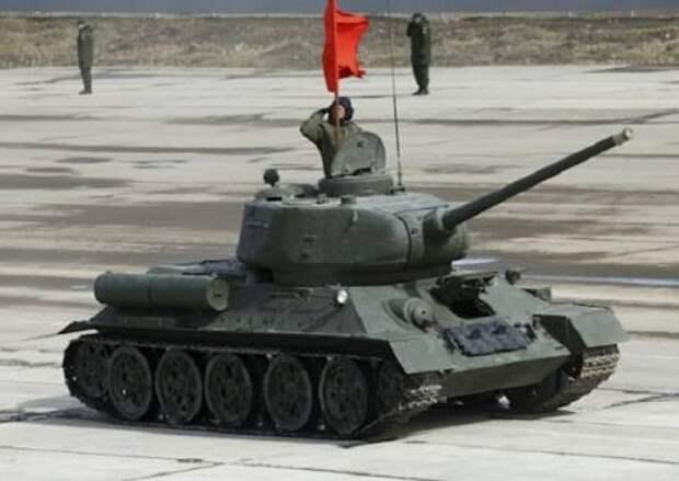 Танк Т-34 откроет парад Победы в Нижнем Новгороде 9 мая