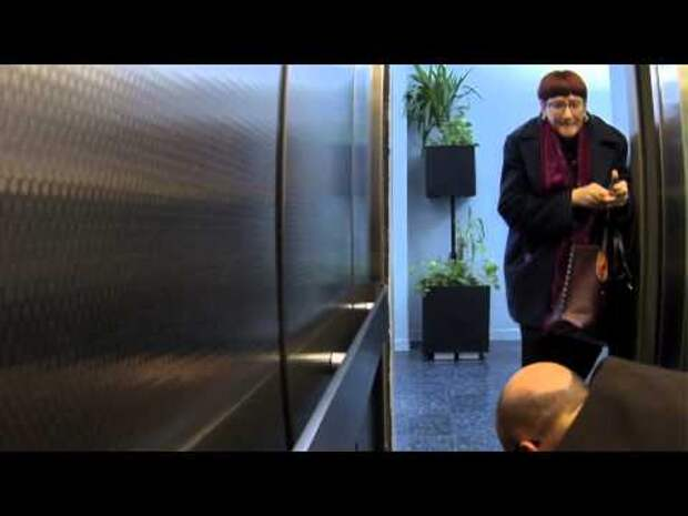 Убийство в лифте - рекламная подстава