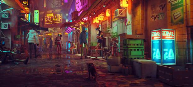 Игровой трейлер адвенчуры про кота Stray
