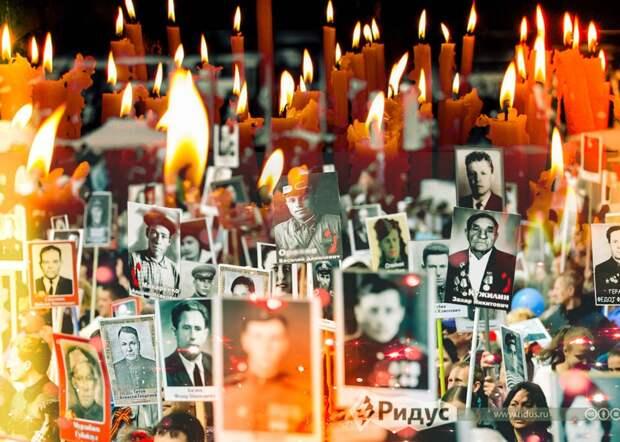 «Никто незабыт. Ничто незабыто»: телебашни зажгли праздничную подсветку