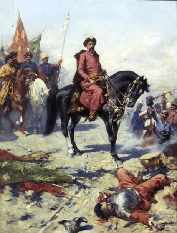 Богдан Хмельницкий. Автор: Николай Иванович Ивасюк.