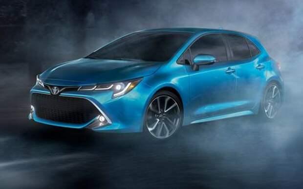 Новая Toyota Corolla: они назвали ее неудержимой!