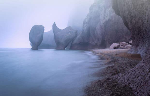 Море , горы  и туманы Приморья в пейзажных фотографиях Тони Андреевой. Россия.
