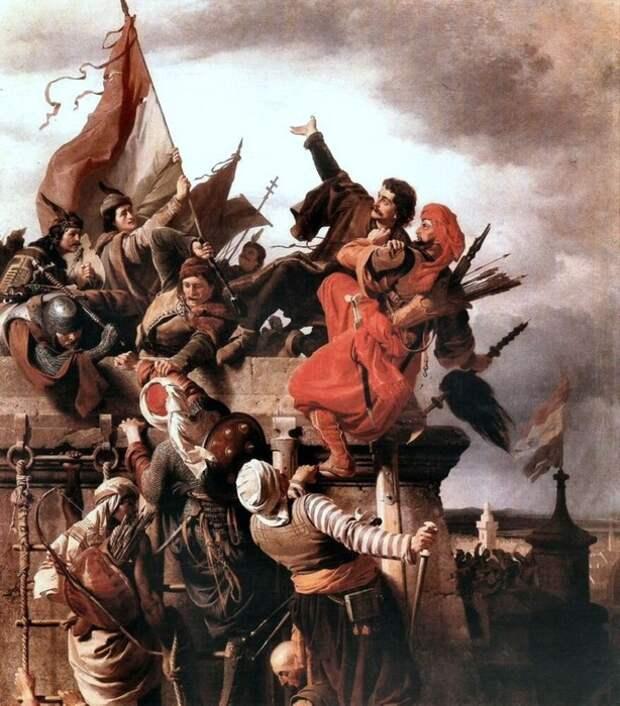 У турков и венгров есть много общего, но они веками враждовали. Картина Шандора Вагнера.