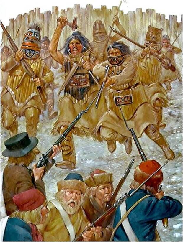 Русско-индейская война на Аляске