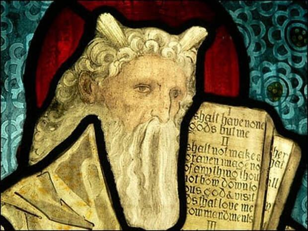 Почему пророка Моисея средневековые художники изображали с рогами