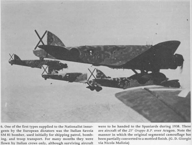 Советская авиация в Испании