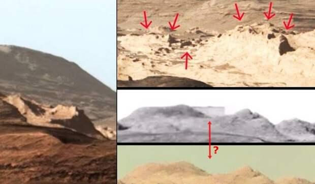 Виртуальные археологи обнаружили на Марсе остатки города