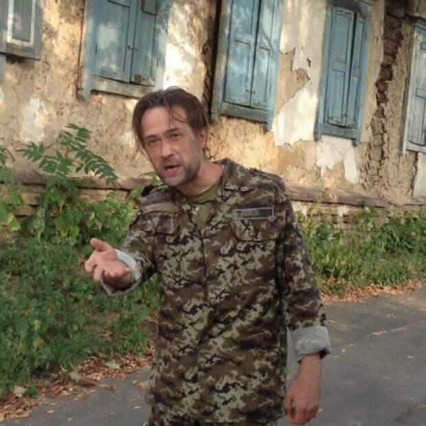Бежавший из России актер поведал, как плохо на Украине