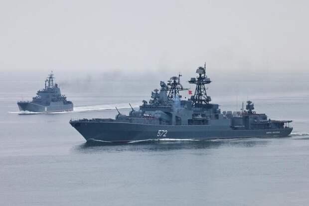 Япония намекнула США про Перл-Харбор из-за учений российского флота