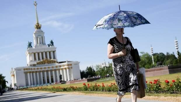 Опасность перегрева: в Москве 19 июня ожидаются аномально высокие температуры