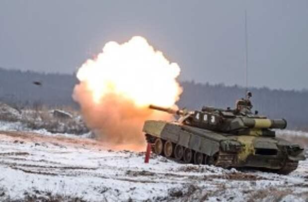 Россия обкатывает новую тактику танкового боя