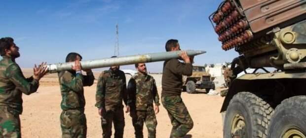 Сирийская армия интенсивно обстреливает позиции боевиков вИдлибе иХаме