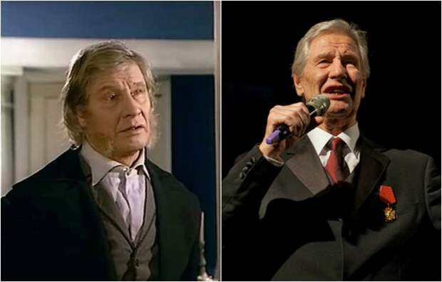 Актер сыграл трогательного старого лакея Степана.